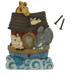 Noah's Ark Lightswitch Cover, Boat/Animals/Waves